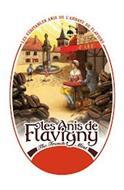 LES VÉRITABLES ANIS DE L'ABBAYE DE FLAVIGNY LES ANIS DE FLAVIGNY THE FRENCH MINT CAFÉ