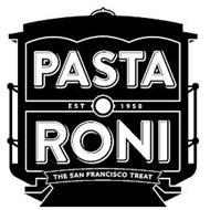 PASTA RONI EST 1958 THE SAN FRANCISCO TREAT