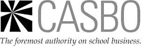 CASBO THE FOREMOST AUTHORITY ON SCHOOL BUSINESS.