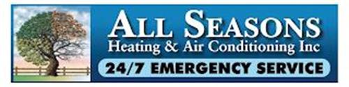 ALL SEASONS HEATING & AIR CONDITIONING 24/7 EMERGENCY SERVICE