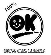 100% O.K. BRAND