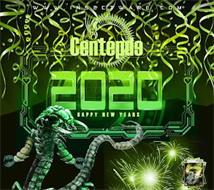 WWW.INSECTWARE.COM CENTEPDE 2020 HAPPY NEW YEARS CENTEPDE