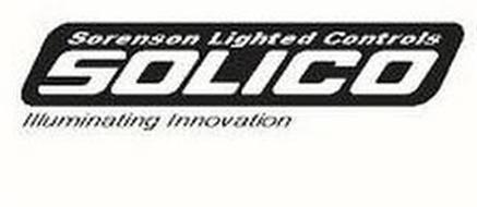 SORENSON LIGHTED CONTROLS SOLICO ILLUMINATING INNOVATION
