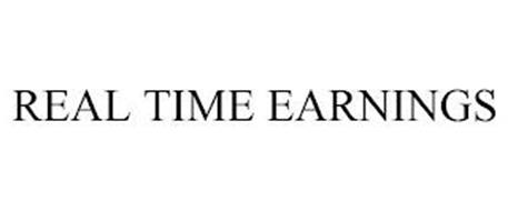 REAL TIME EARNINGS