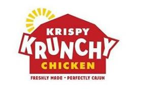 KRISPY KRUNCHY CHICKEN FRESHLY MADE · PERFECTLY CAJUN