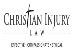 CHRISTIAN INJURY LAW EFFECTIVE· COMPASSIONATE· ETHICAL