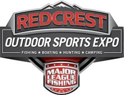 REDCREST OUTDOOR SPORTS EXPO FISHING BOATING HUNTING CAMPING MAJOR LEAGUE FISHING