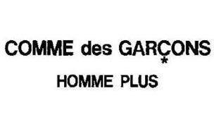 COMME DES GARCONS HOMME PLUS