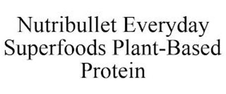 NUTRIBULLET EVERYDAY SUPERFOODS PLANT-BASED PROTEIN