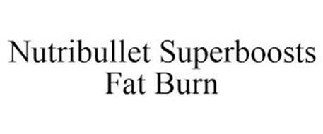 NUTRIBULLET SUPERBOOSTS FAT BURN