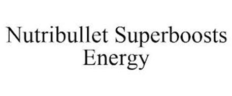 NUTRIBULLET SUPERBOOSTS ENERGY