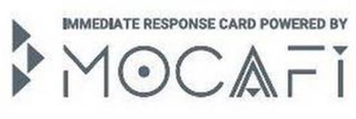 IMMEDIATE RESPONSE CARD POWERED BY MOCAFI