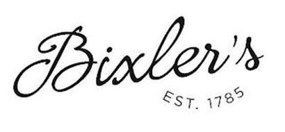 BIXLER'S EST. 1785