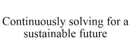 CONTINUOUSLY SOLVING FOR A SUSTAINABLE FUTURE