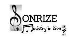 SONRIZE MINISTRY IN SONG