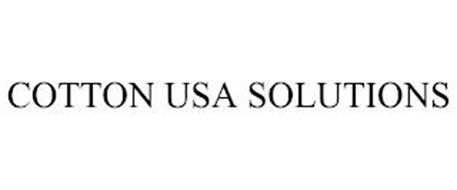 COTTON USA SOLUTIONS