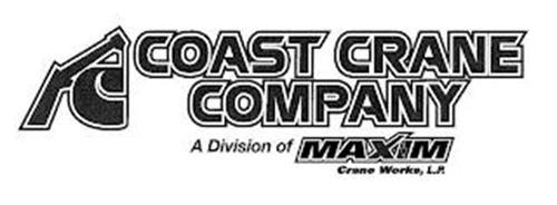 C COAST CRANE COMPANY A DIVISION OF MAXIM CRANE WORKS, L.P.