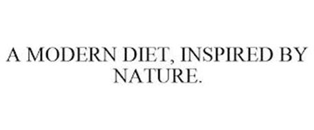 A MODERN DIET, INSPIRED BY NATURE.