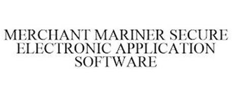 MERCHANT MARINER SECURE ELECTRONIC APPLICATION SOFTWARE