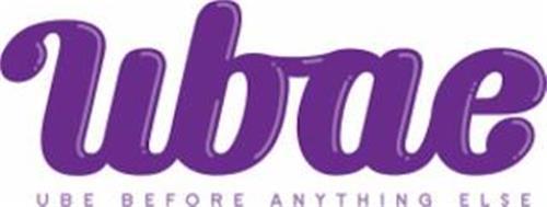 UBAE UBE BEFORE ANYTHING ELSE