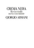 CREMA NERA REVISCENTALIS META CONCENTRATE GIORGIO ARMANI