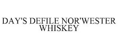 DAY'S DEFILE NOR'WESTER WHISKEY
