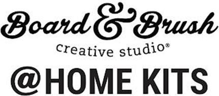 BOARD & BRUSH CREATIVE STUDIO @HOME KITS