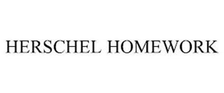 HERSCHEL HOMEWORK
