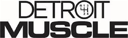 DETROIT MUSCLE R 1 2 3 4