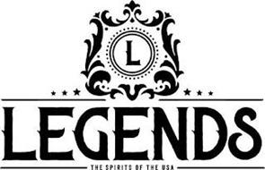 L LEGENDS THE SPIRITS OF THE USA