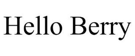 HELLO BERRY