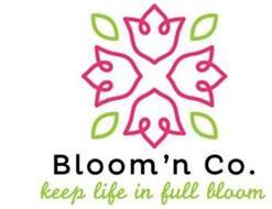 BLOOM'N CO. KEEP LIFE IN FULL BLOOM