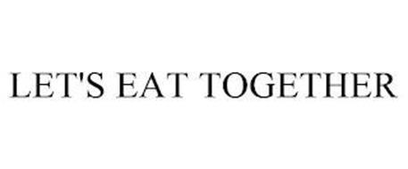LET'S EAT TOGETHER