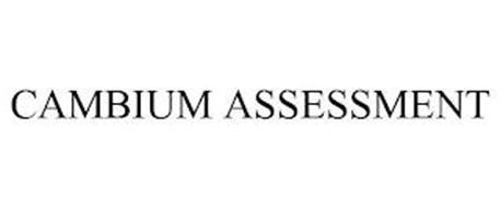 CAMBIUM ASSESSMENT