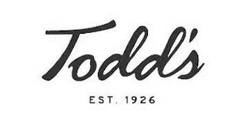 TODD'S EST. 1926