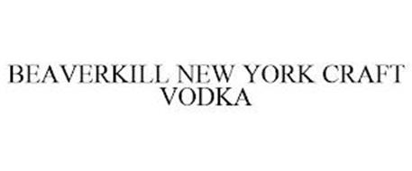 BEAVERKILL NEW YORK CRAFT VODKA