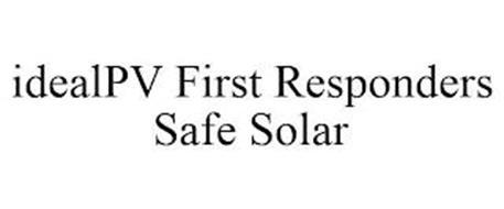 IDEALPV FIRST RESPONDERS SAFE SOLAR
