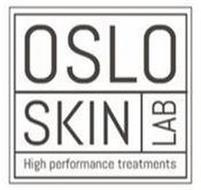 OSLO SKIN LAB HIGH PERFORMANCE TREATMENTS