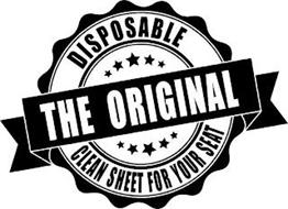 DISPOSABLE THE ORIGINAL CLEAN SHEET FOR YOUR SEAT