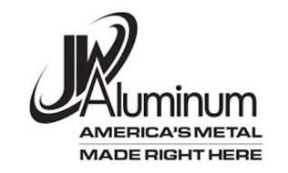 JW ALUMINUM AMERICA'S METAL MADE RIGHT HERE