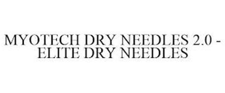 MYOTECH DRY NEEDLES 2.0 - ELITE DRY NEEDLES