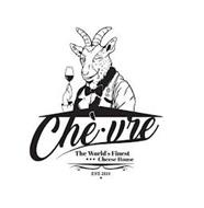 CHE-VRE THE WORLD'S FINEST CHEESE HOUSE EST. 2019