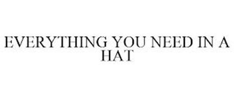 EVERYTHING YOU NEED IN A HAT