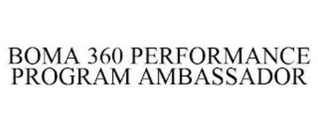BOMA 360 PERFORMANCE PROGRAM AMBASSADOR