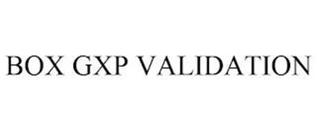 BOX GXP VALIDATION