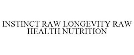 INSTINCT RAW LONGEVITY RAW HEALTH NUTRITION