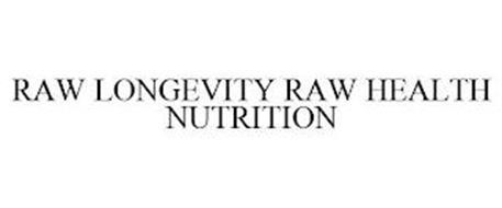 RAW LONGEVITY RAW HEALTH NUTRITION