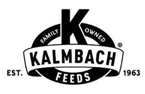 K FAMILY OWNED KALMBACH FEEDS EST. 1963