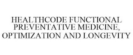 HEALTHCODE FUNCTIONAL PREVENTATIVE MEDICINE, OPTIMIZATION AND LONGEVITY