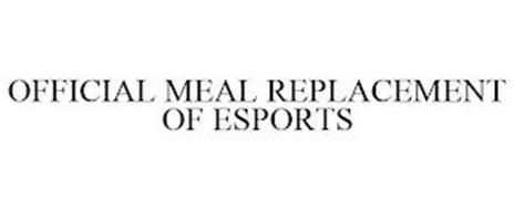 OFFICIAL MEAL REPLACEMENT OF ESPORTS